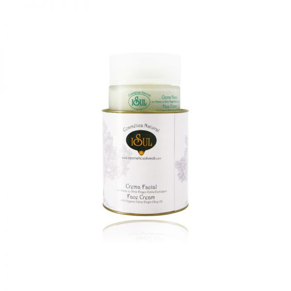 Crema Facial Hidronutritiva con Aceite de Oliva 50 ml